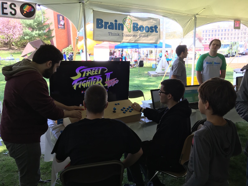 Maker Fair Brain Boost